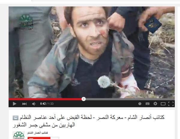 Ahrar al Sham Jisr Verwundeter