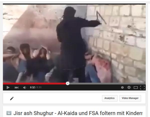 Jisr perverse HRW-Rebellen