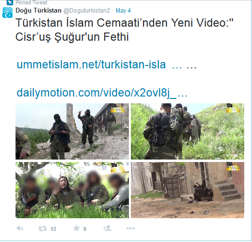 Türkistan TIP Kaidas Idlib