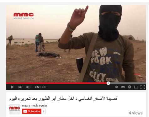 Dhuhur Kindsoldat Al-Kaida