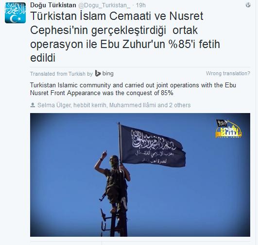 Dhuhur Turkistan Terroristen TIP