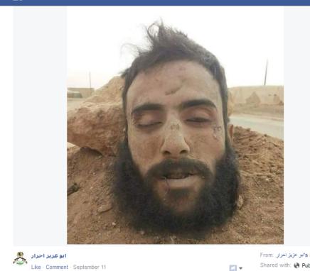 Duhur Kommentator Kopf auf FB