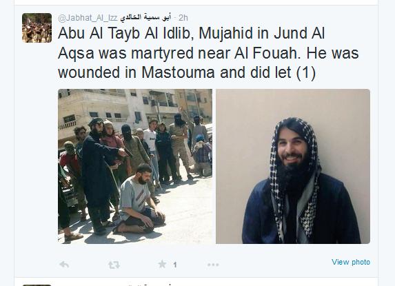 Fouah Terrorist Mörder tot