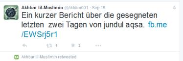Fuah Muslimin deutsch gesegnet Al-kaida