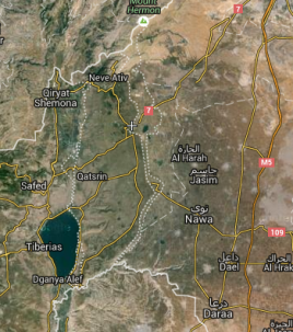 Golan Map