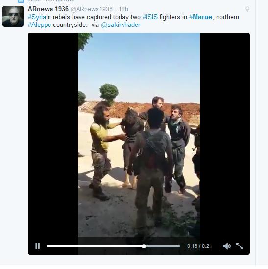 Marea terroristen mit IS gefangenen