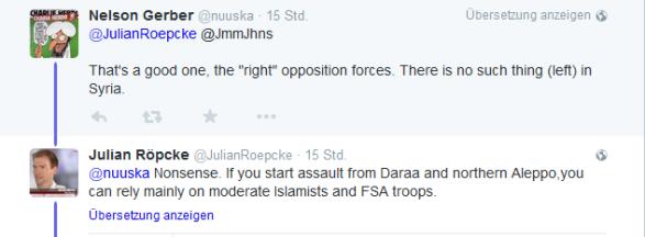 Röepcke Daraa moderate islamisten