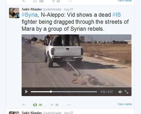 Röepcke Rebellen Aleppo Marea Leichenschändung
