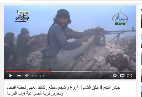 Roepcke rebellen Al-Kaida Ahrar al Sham Jaish al fateh turkistan Terroristen