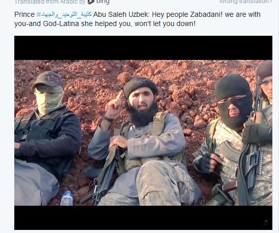 Usbeken Terrorist-Fouah