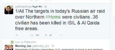 Khoja lügt über IS