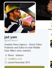 Anadolu chief editor