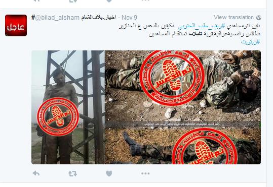 Iraker aufgehängt