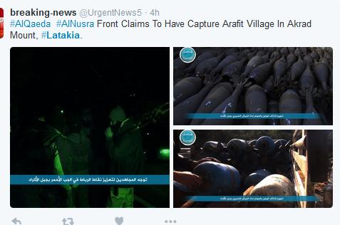 Jabhat al Nusra Anfal akrad