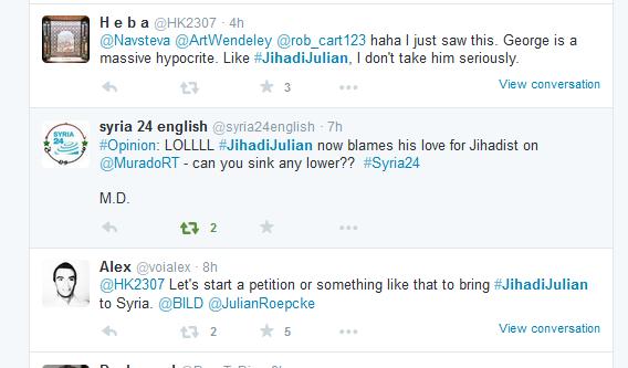 jihadijulian fortsetzung