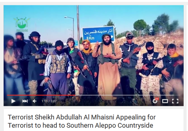 Mhaisini nach Aleppo Jihad