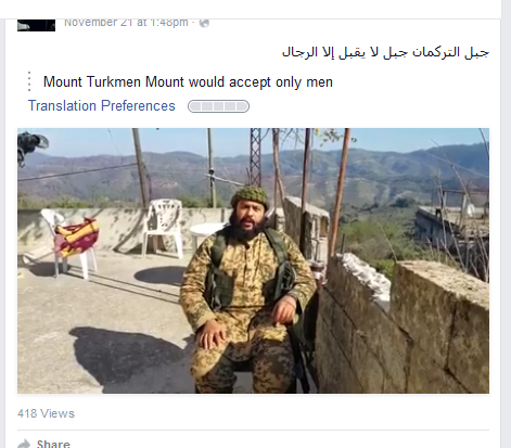 Mount turkman mhaisni
