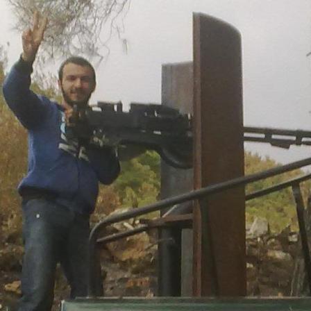 orientnews Reporter mit dushka als Terrorist