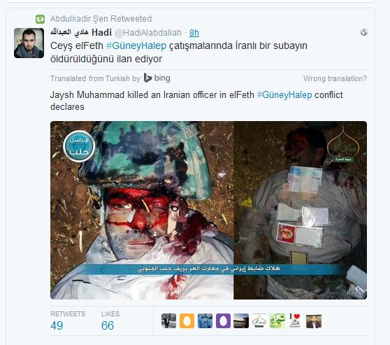 hadi Al-kaida ermordete Soldaten aleppo