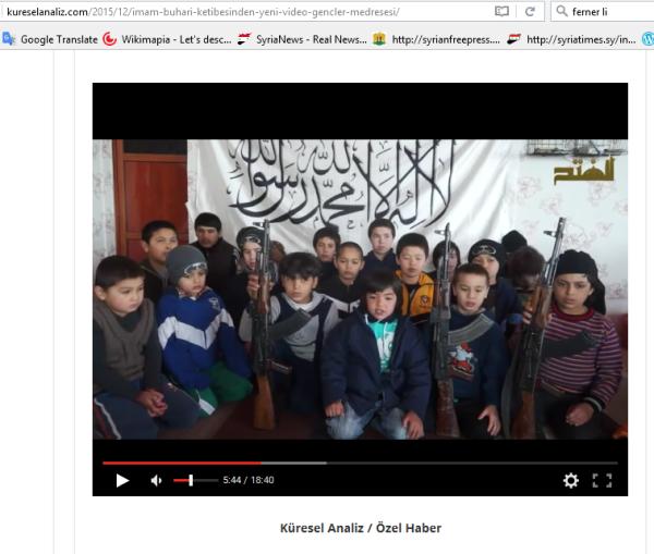 Kindersoldaten Turkistan Al-kaida