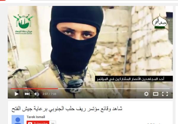 Nusra Jihadi Julian John