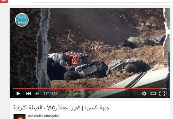 East Ghoutha Al-kaida durchgeknallt