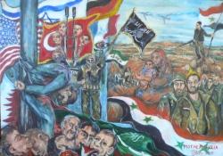 Salma Terroristen gemälde