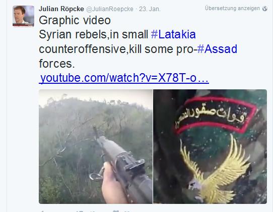 Unterstützer Röpcke Al-Kaida