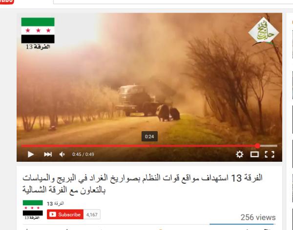 Aleppo stalinorgel 13 terroristenDivision