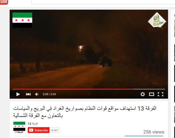 Aleppo Stalinorgeln an Terroristen