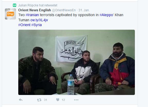 KhanTuman Röpcke twittert gefangene in Mörderhand weiter