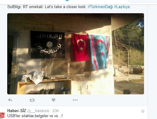 Lattakia Turkistan Turkmenen-Graue Wölfe-Al-Kaida-Terroristen