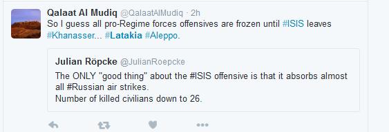 Röpcke gutes an ISIS