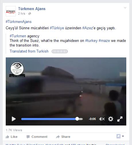Terroristen direkt aus der Türkei, Flüchtlingscamp Azaz