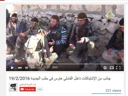 Westaleppo Terroristen