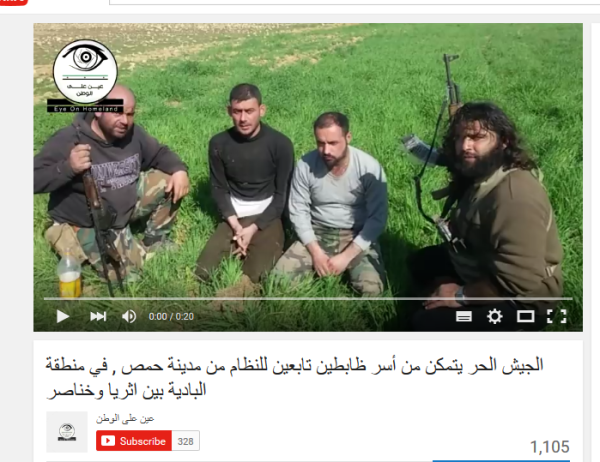 Homs-Mörder und ihre Opfer