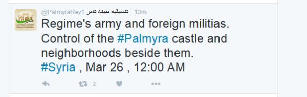 Palmyra castle nachbarschaft