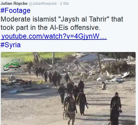 Moderate Al-Kaidas bei Röpcke