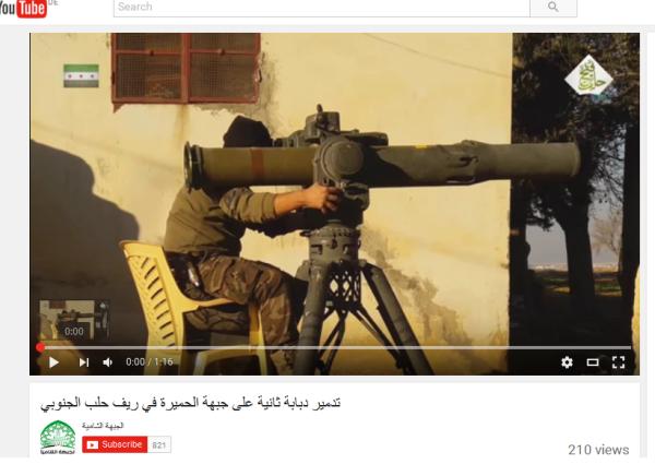 Al-Kaida-TOW südaleppo