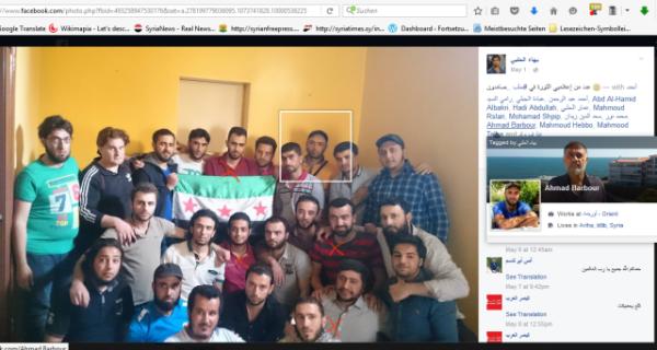 RaedFaresPropagandateam in Aleppo unterwegs
