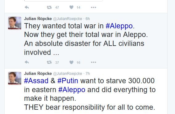 aleppo terroristenpropaganda