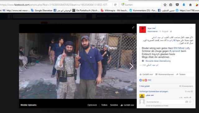 Ahmed Sweida trauert um Al-Kaida-Bruder