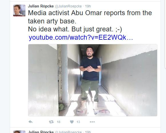 Röpcke Al-Kaida-Verherrlichung